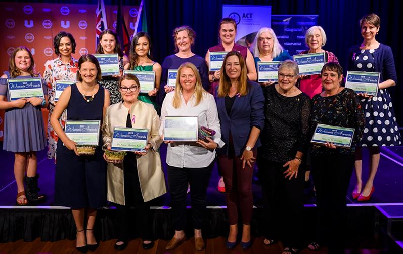 2019 ACT Women's Awards