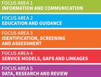Focus area pathways