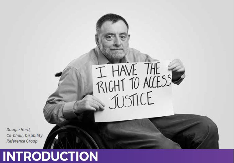 I have the right to access justice