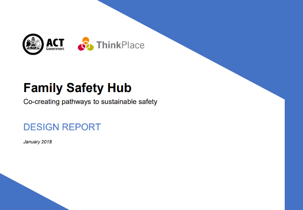 Family Safety Design Hub report cover