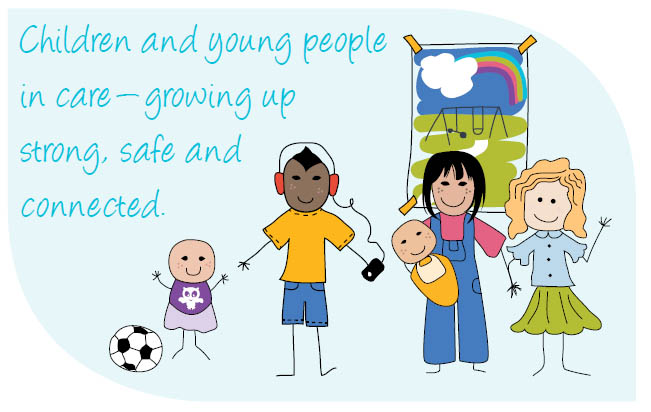 Children and Young People in care - growing up strong, safe and connected