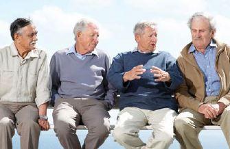 Photo of older men