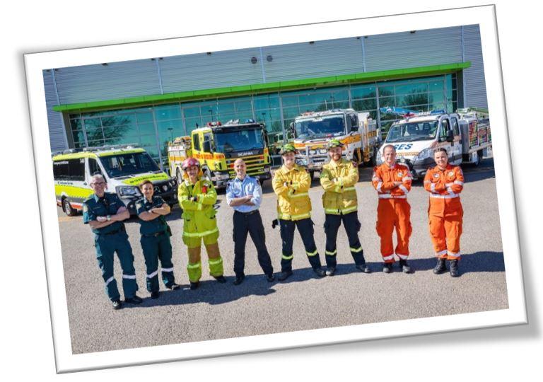 Women firefighter