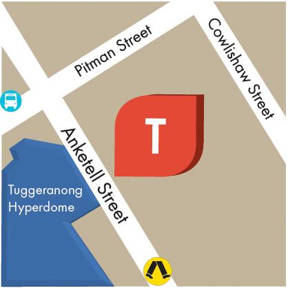 Tuggeranong Map