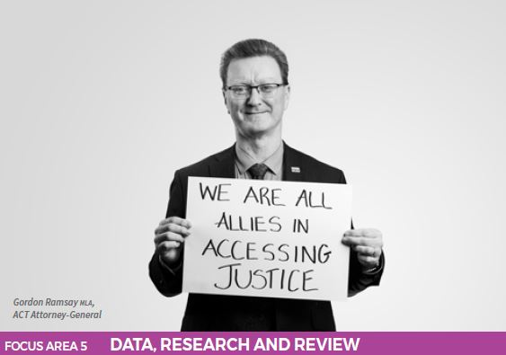 We are all allies in accessing justice