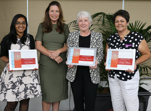 Women' Award Recipients